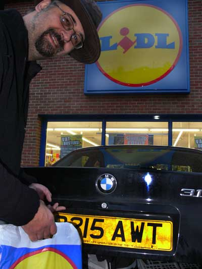 The Ranger shopping at Lidl